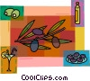Vector Clip Art graphic  of a Olives