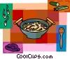 Vector Clip Art image  of a Soup