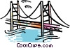 Bridge Vector Clipart picture