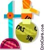 beaker Vector Clip Art picture
