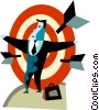 Targets and Objectives Vector Clipart picture