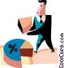 Vector Clipart graphic  of a Charting Success