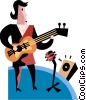 Vector Clip Art graphic  of an Amateurs