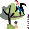 Vector Clipart illustration  of an Assorted Metaphors