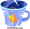 teacup Vector Clipart picture