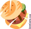 Hamburger Vector Clip Art graphic