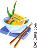 Japanese food Vector Clip Art graphic