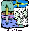 Sweden Vector Clip Art picture