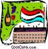 Vector Clip Art graphic  of a Paris