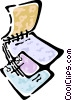 Vector Clipart image  of a Notepad