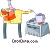 Chefs and Cooks Vector Clipart illustration