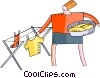 Laundry Vector Clip Art picture