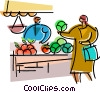 Miscellaneous Grocery Store Items Vector Clip Art picture