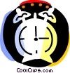 Vector Clip Art graphic  of an Alarm Clocks