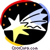 Vector Clip Art picture  of a Stars