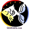 Goldfish Vector Clipart image