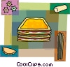 Vector Clipart graphic  of a Pasta
