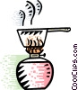 Vector Clip Art graphic  of a Stove