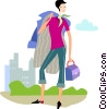 Businesswomen Vector Clipart picture