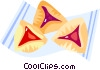 Vector Clipart graphic  of a pastries