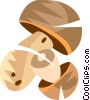 Vector Clip Art image  of a mushrooms