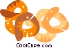 pretzels Vector Clipart graphic
