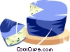 cheese Vector Clipart picture