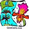 Vector Clipart graphic  of a Brazil