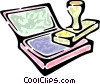 rubber stamp Vector Clip Art image