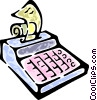 Vector Clip Art picture  of a calculator