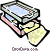 in-out box Vector Clip Art picture