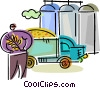 Farmers Vector Clipart picture