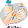 Medicine and Prescriptions Vector Clipart image