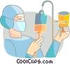 Nurses Vector Clipart picture