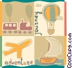 Travel Brochures Vector Clipart image