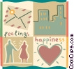Couples and Romance Vector Clip Art graphic