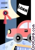 Auto Sales Vector Clip Art picture