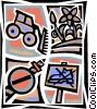 Vector Clip Art image  of a Concepts