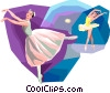 Ballet Vector Clipart illustration