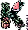 Vector Clipart illustration  of a Festive Letters