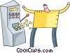 Slot Machines Vector Clipart image