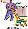 Rakes Vector Clip Art picture