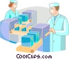Medical Research Vector Clip Art picture