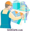Vector Clipart graphic  of an Architects and Designers