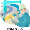 Welders Vector Clip Art picture