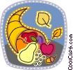 Cornucopia Vector Clip Art picture