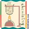 Bunsen burners Vector Clipart image