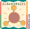 Molecules and Atoms Vector Clipart image