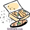 Vector Clipart graphic  of a Cigars