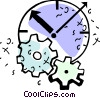 Concepts of time Vector Clip Art image